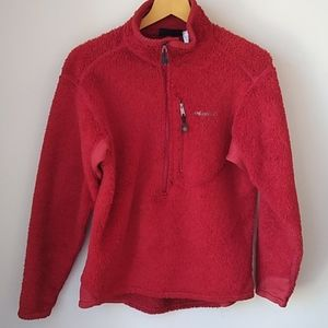 Patagonia fleece red medium